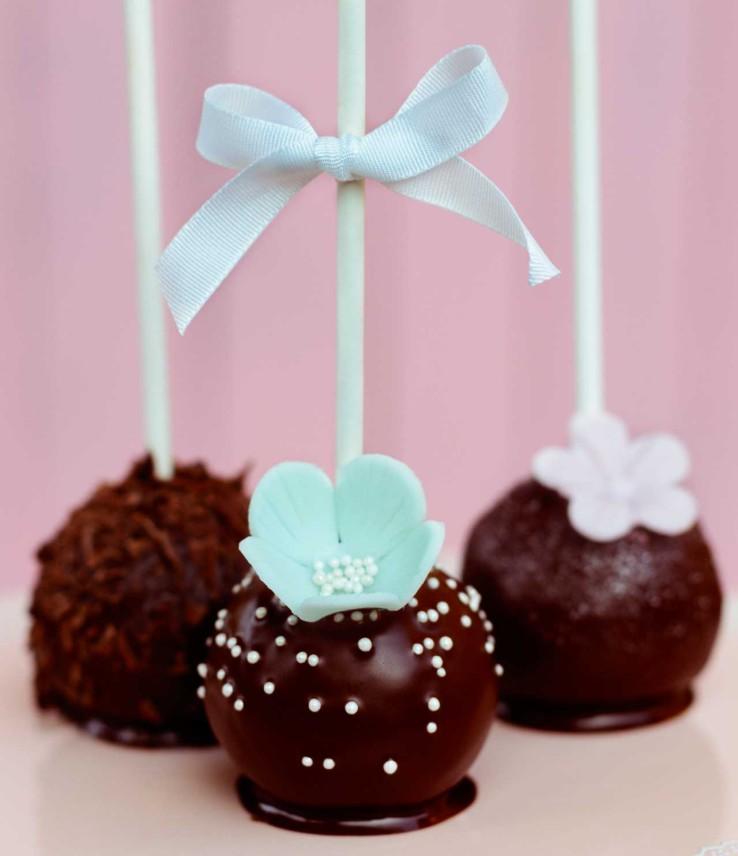 Perníčkové cake pops